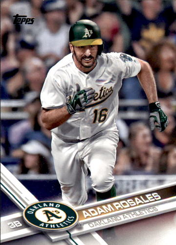 Photo of 2017 Topps #377 Adam Rosales