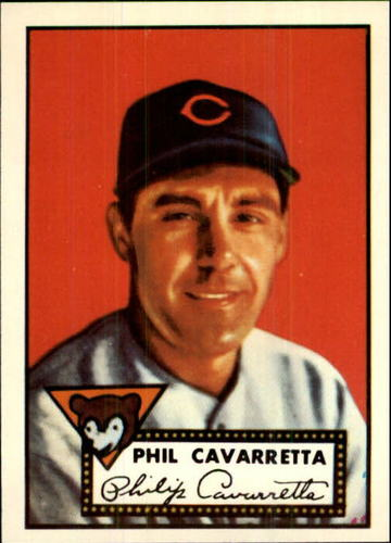 Photo of 1983 Topps 1952 Reprint #295 Phil Cavarretta
