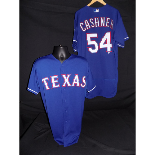 Photo of Andrew Cashner Team-Issued Blue Jersey - Size 48