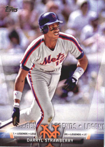 Photo of 2018 Topps Salute #TS37 Darryl Strawberry