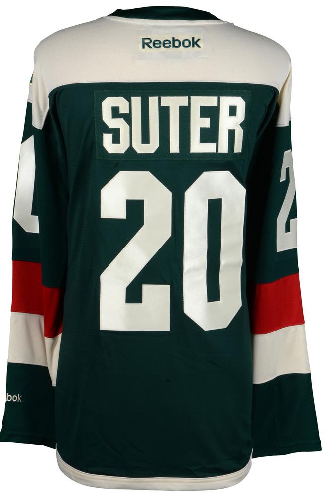 Ryan Suter Minnesota Wild 2016 Stadium Series Unsigned Jersey - NHL ... f5e640cf5