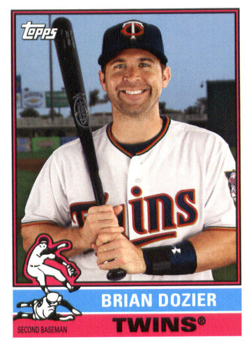 Photo of 2015 Topps Archives #155 Brian Dozier