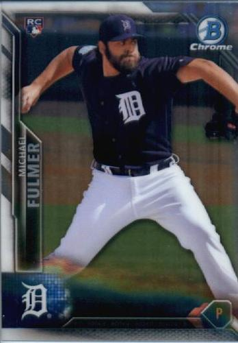 Photo of 2016 Bowman Chrome #41 Michael Fulmer RC