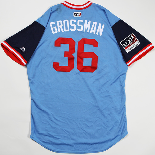 "Photo of Robbie ""Grossman"" Grossman Minnesota Twins Game-Used Jersey 2018 Players' Weekend Jersey"