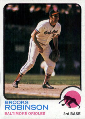 Photo of 1973 Topps #90 Brooks Robinson