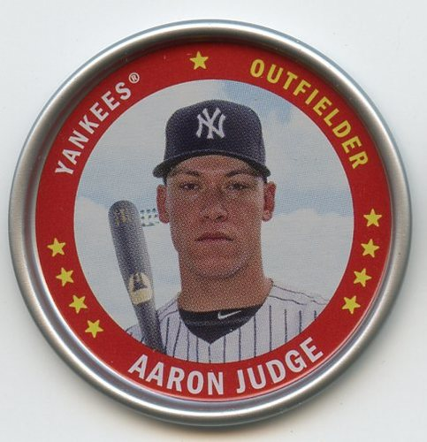 Photo of 2019 Topps Archives Coins #C7 Aaron Judge