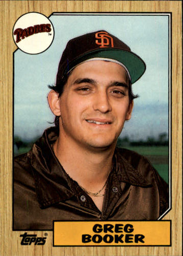 Photo of 1987 Topps Traded #6T Greg Booker