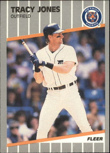 Photo of 1989 Fleer Update #31 Tracy Jones