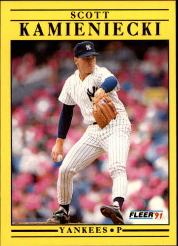 Photo of 1991 Fleer Update #45 Scott Kamieniecki RC