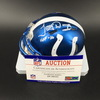 HOF - Colts Tony Dungy Signed Chrome Mini Helmet