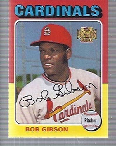 Photo of 2001 Topps Archives #137 Bob Gibson 75