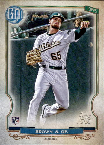 Photo of 2020 Topps Gypsy Queen #91 Seth Brown RC