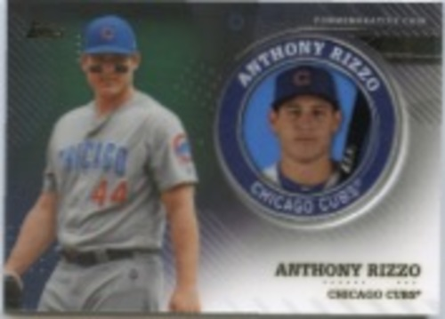 Photo of 2020 Topps Player Medallions #TPMARZ Anthony Rizzo