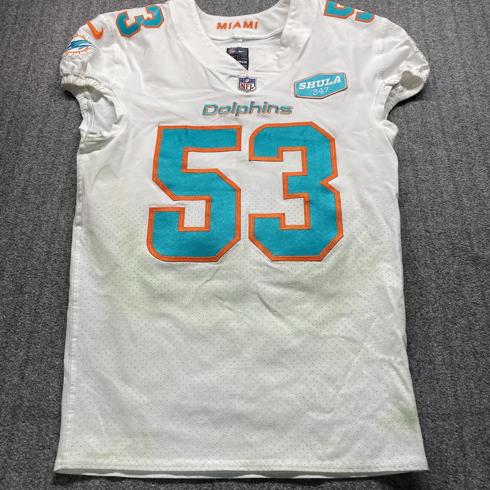 NFL Auction | STS - Dolphins Kyle Van Noy Game Used Jersey (11/8 ...