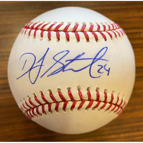 Photo of DJ Stewart Autographed Baseball