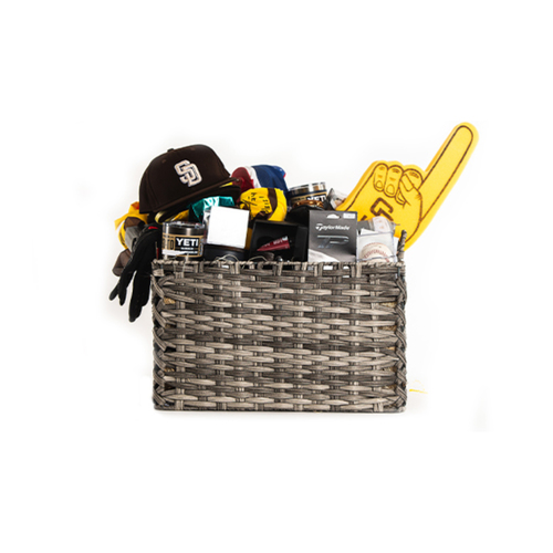 """Photo of Padres Bullpen """"Favorite Things"""" Basket - Pick-Up Only at Petco Park"""