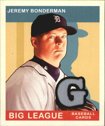 Photo of 2007 Upper Deck Goudey Memorabilia #58 Jeremy Bonderman