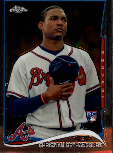 Photo of 2014 Topps Chrome #91 Christian Bethancourt RC