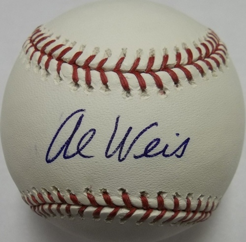 Photo of Al Weis Autographed Baseball