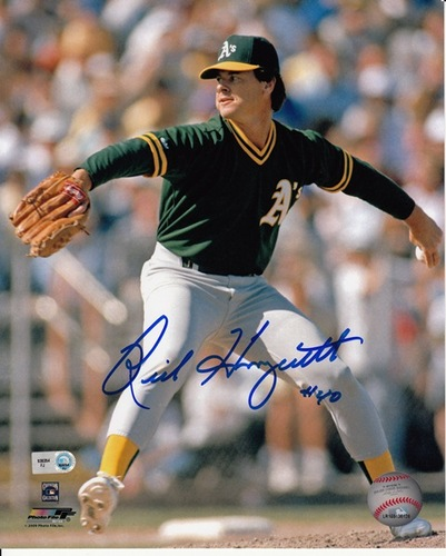Rick Honeycutt Autographed 8x10