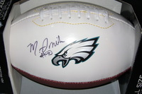 EAGLES - MARCUS SMITH SIGNED PANEL BALL