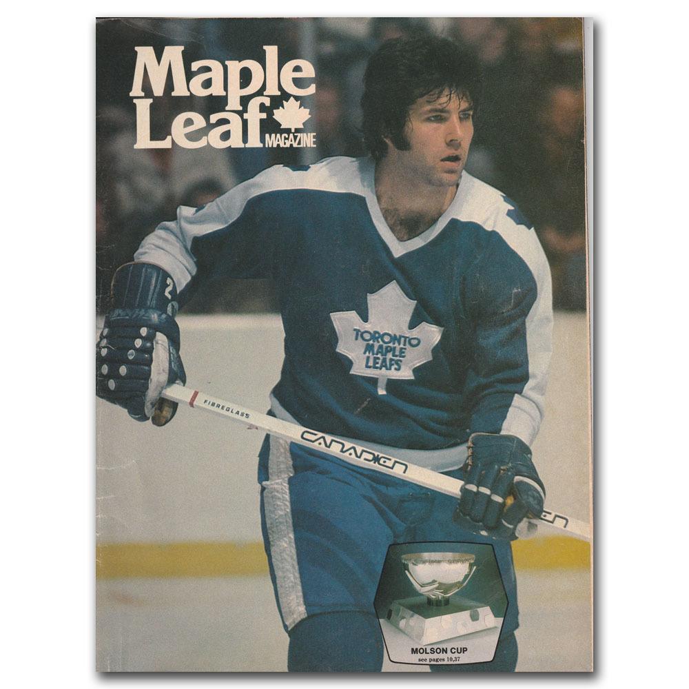 Toronto Maple Leafs Program - December 29, 1979