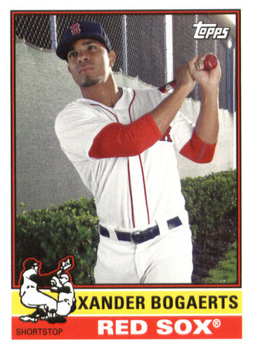 Photo of 2015 Topps Archives #161 Xander Bogaerts