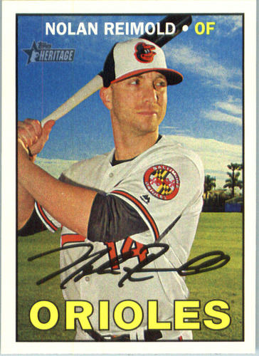 Photo of 2016 Topps Heritage #684 Nolan Reimold