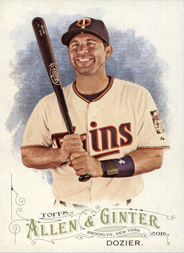 Photo of 2016 Topps Allen and Ginter #74 Brian Dozier