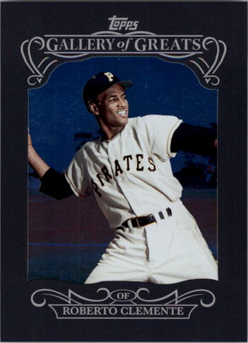 Photo of 2015 Topps Gallery of Greats #GG23 Roberto Clemente