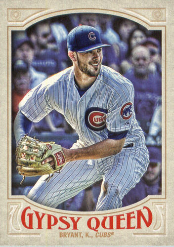 Photo of 2016 Topps Gypsy Queen #79A Kris Bryant/White jersey
