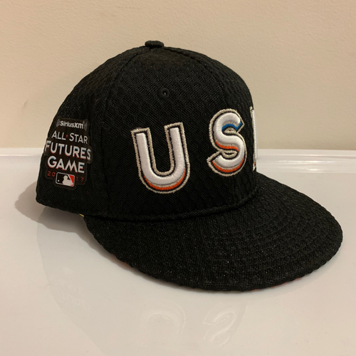 Photo of 2017 All Star Futures Game -  Game Used Cap  - A. J. Puk (Oakland A's) Size - 7 -1/8