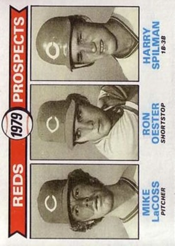 Photo of 1979 Topps #717 Mike LaCoss RC/Ron Oester RC/Harry Spilman RC