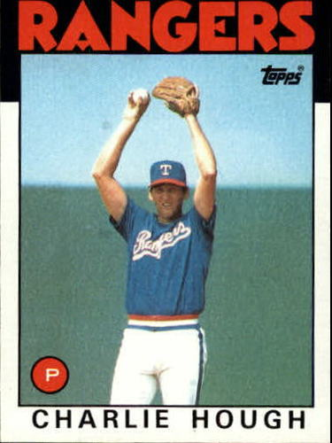 Photo of 1986 Topps #275 Charlie Hough