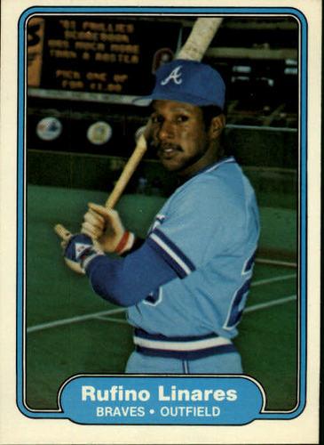 Photo of 1982 Fleer #439 Rufino Linares