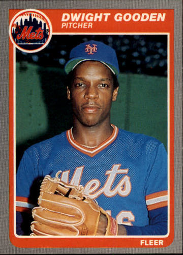 Photo of 1985 Fleer #82 Dwight Gooden RC