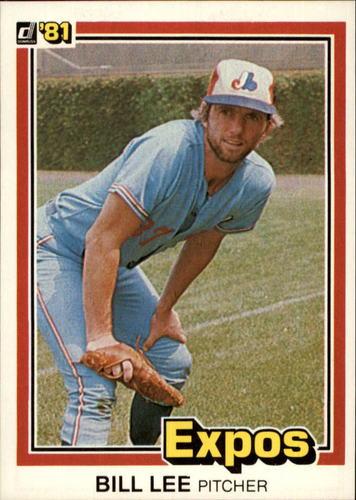 Photo of 1981 Donruss #211 Bill Lee