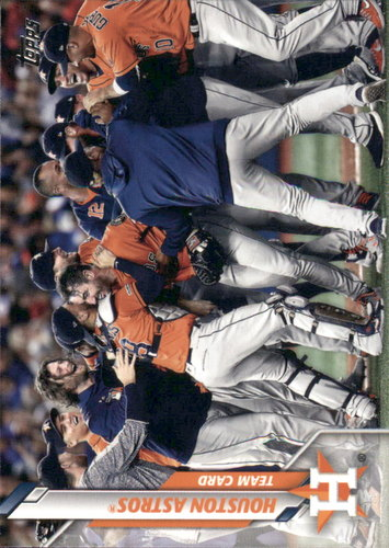 Photo of 2020 Topps #33 Houston Astros TC