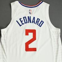 Kawhi Leonard - Los Angeles Clippers - Game-Worn Association Edition Jersey - NBA Canada Series - 2019-20 NBA Preseason