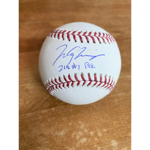 Photo of Matt Manning Autographed Official Major League Baseball (MLB AUTHENTICATED)