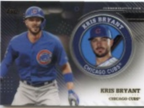 Photo of 2020 Topps Player Medallions #TPMKB Kris Bryant