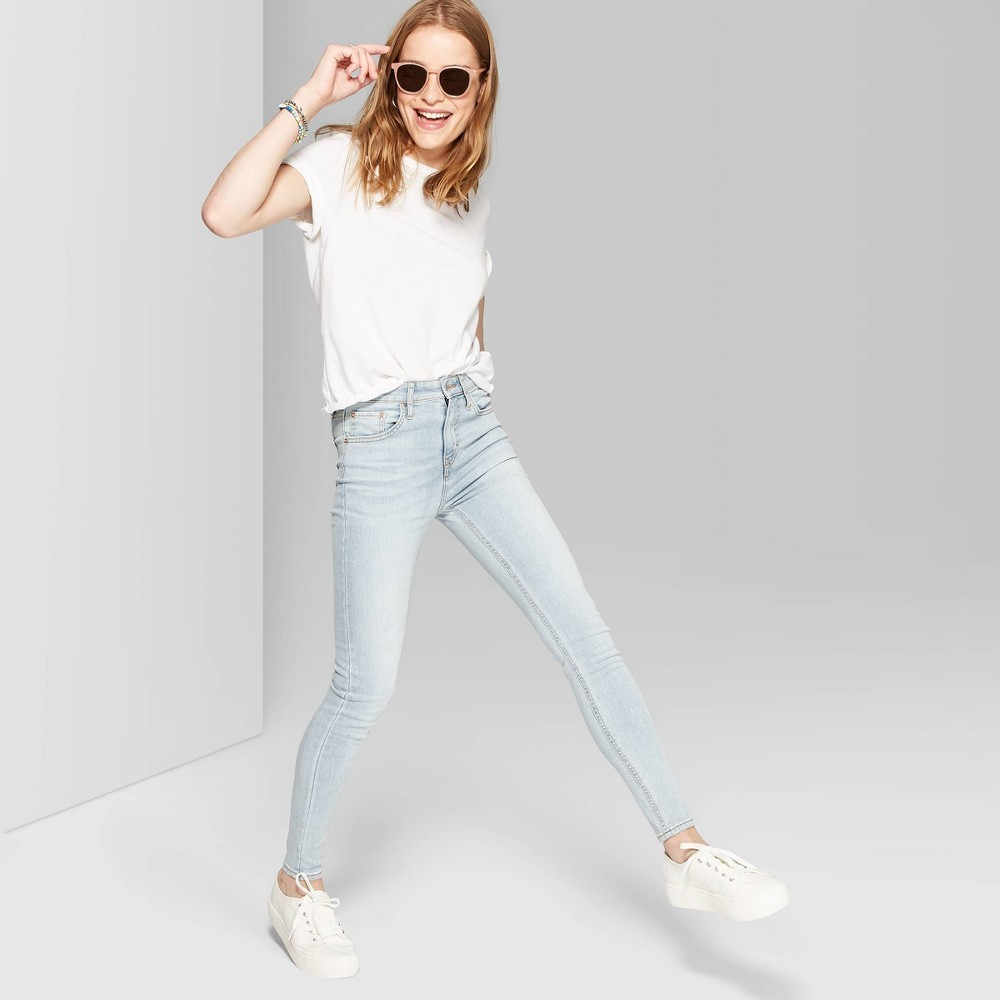 Photo of Women's High-Rise Skinny Jeans - Wild Fable