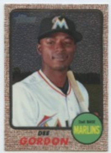 Photo of 2017 Topps Heritage Chrome #THC447 Dee Gordon