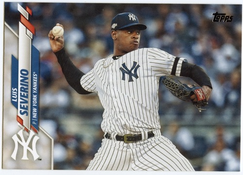 Photo of 2020 Topps #669 Luis Severino