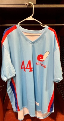 Jacksonville Expos Fauxback Jersey #44 Size 54