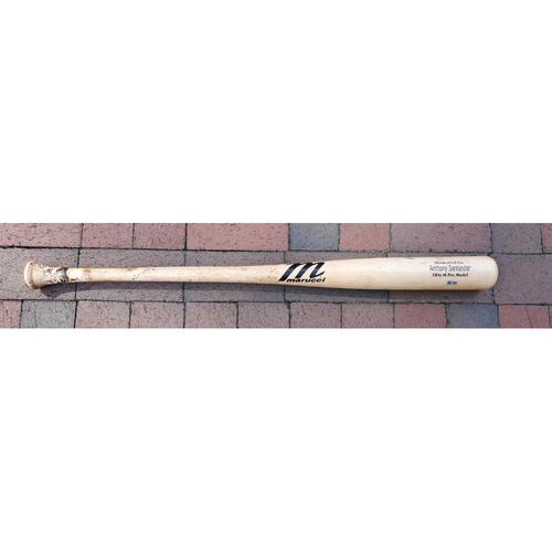 Photo of Anthony Santander: Broken Bat - Game Used