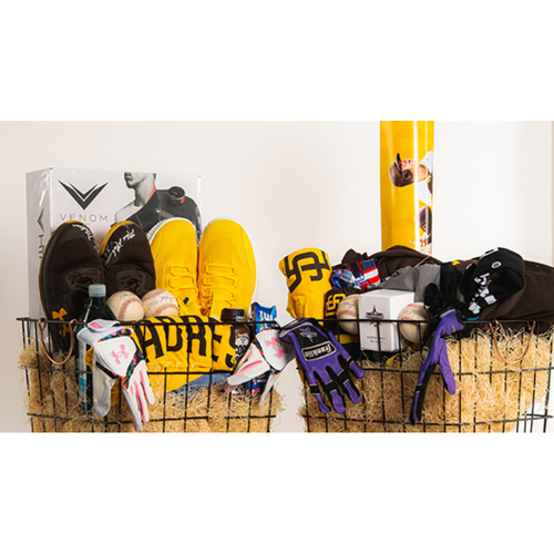 """Photo of Mark Melancon """"Favorite Things"""" Basket - Pick-Up Only at Petco Park"""