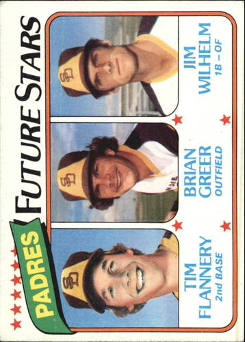 Photo of 1980 Topps #685 Tim Flannery RC/Brian Greer RC/Jim Wilhelm RC