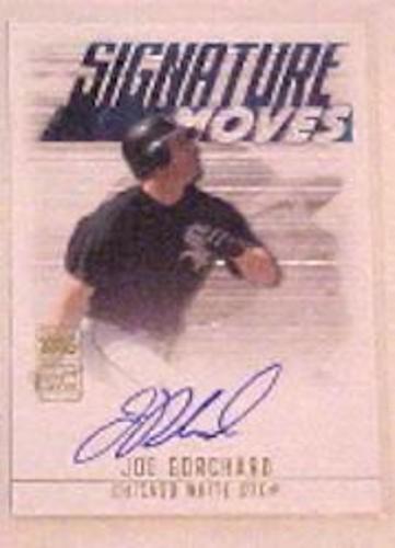 Photo of 2003 Topps Traded Signature Moves Autographs #JB Joe Borchard B
