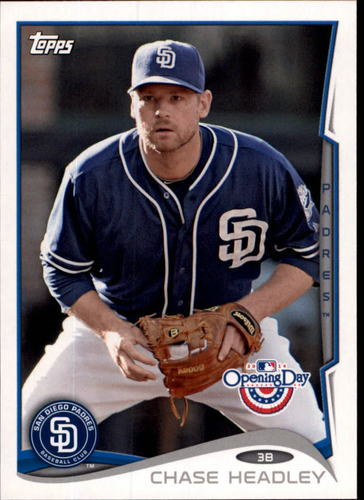 Photo of 2014 Topps Opening Day #216 Chase Headley